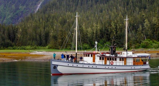 1 slide alaska sitka boat bear sighting pano