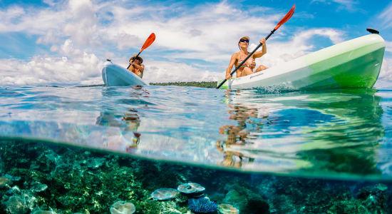 vanuatu espiritu santo kayakers