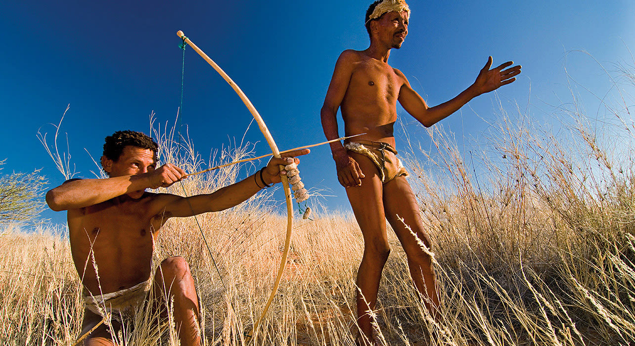 san tribesmen