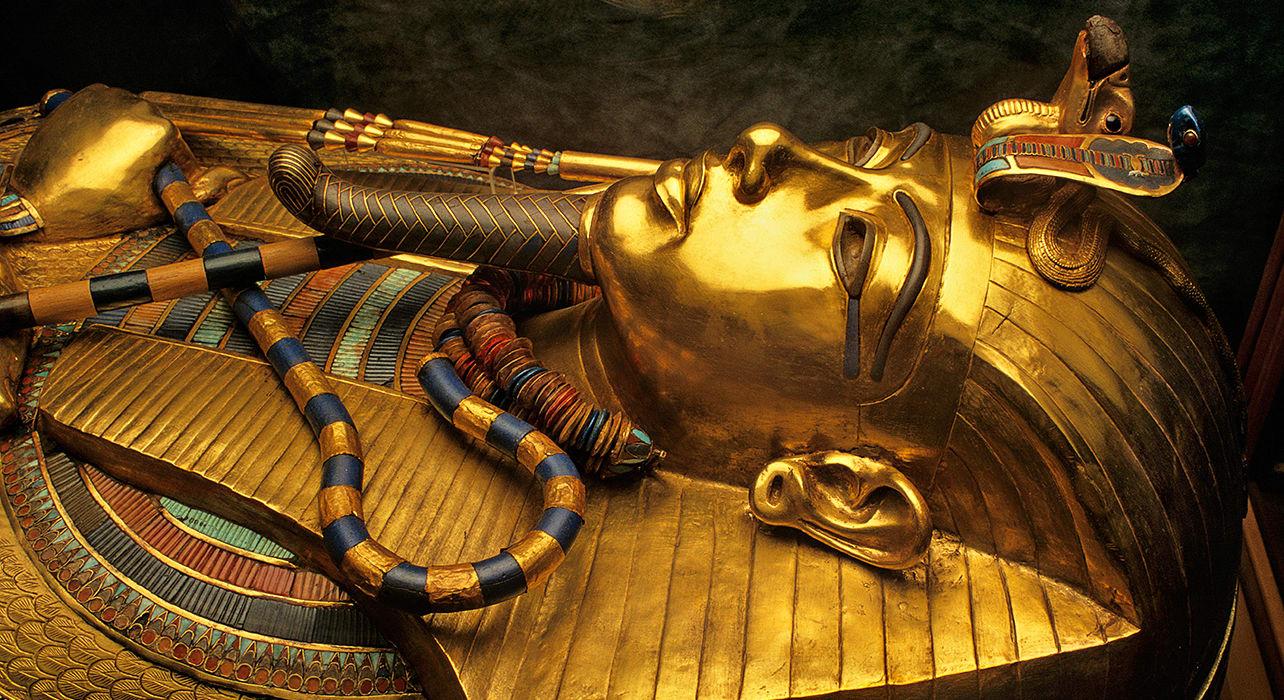 egypt tutankhamun archeology sarcophagus tomb