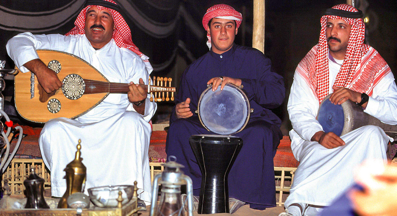 jordan bedouin music