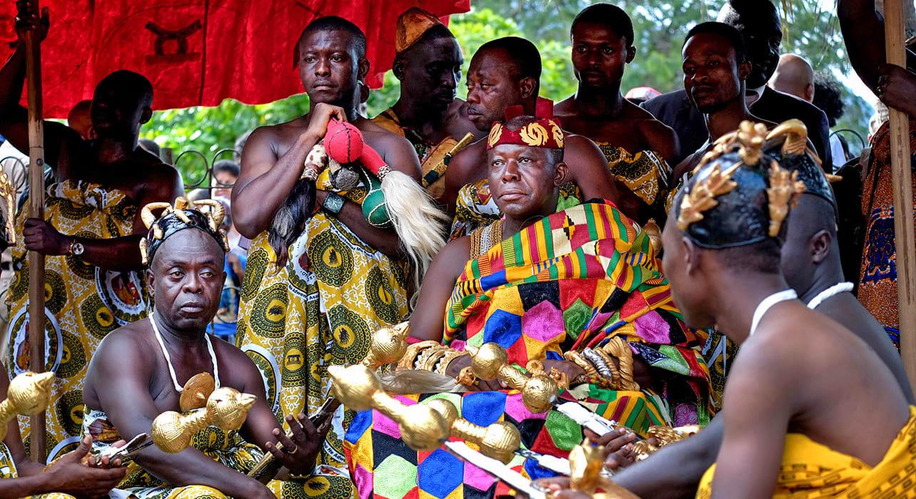 tribe chief ghana togo benin