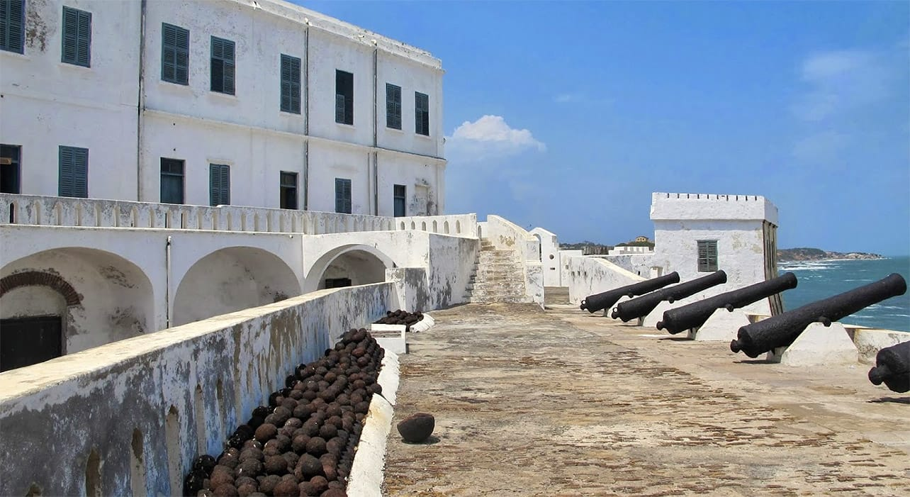 ghana togo benin slave castle