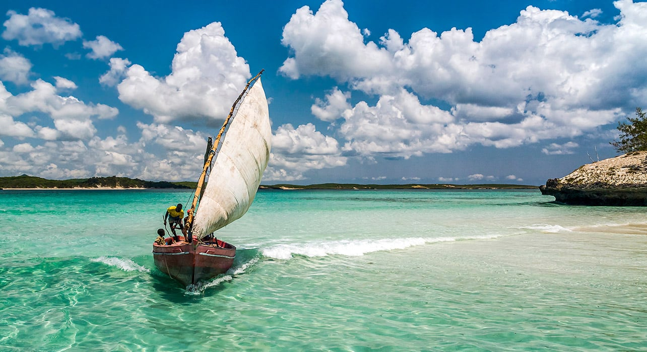 emerald sea of antsiranana boat madagascar