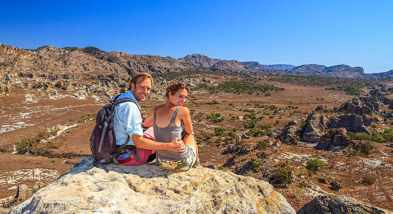 madagascar valley floor mountain couple