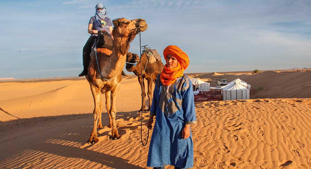 morocco camel client berber camp