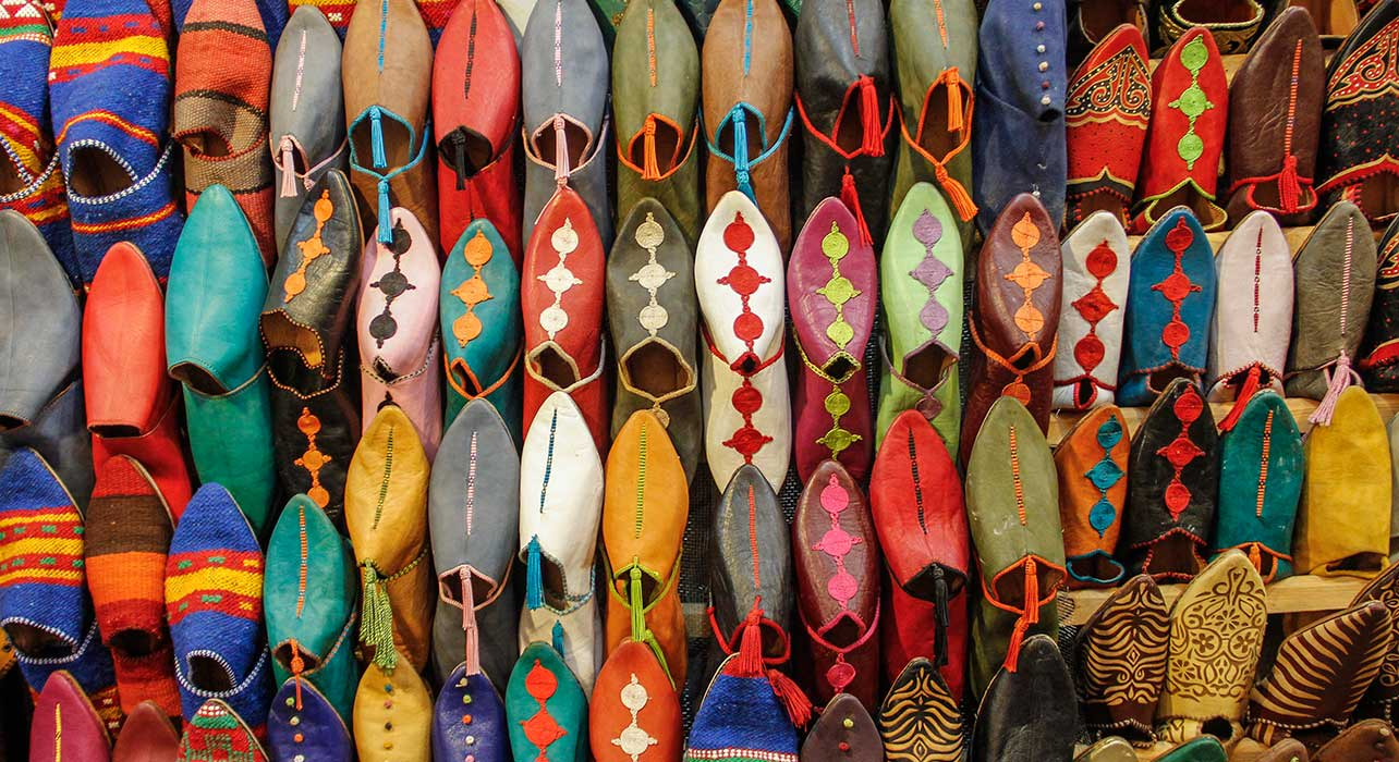 morocco traditional shoes