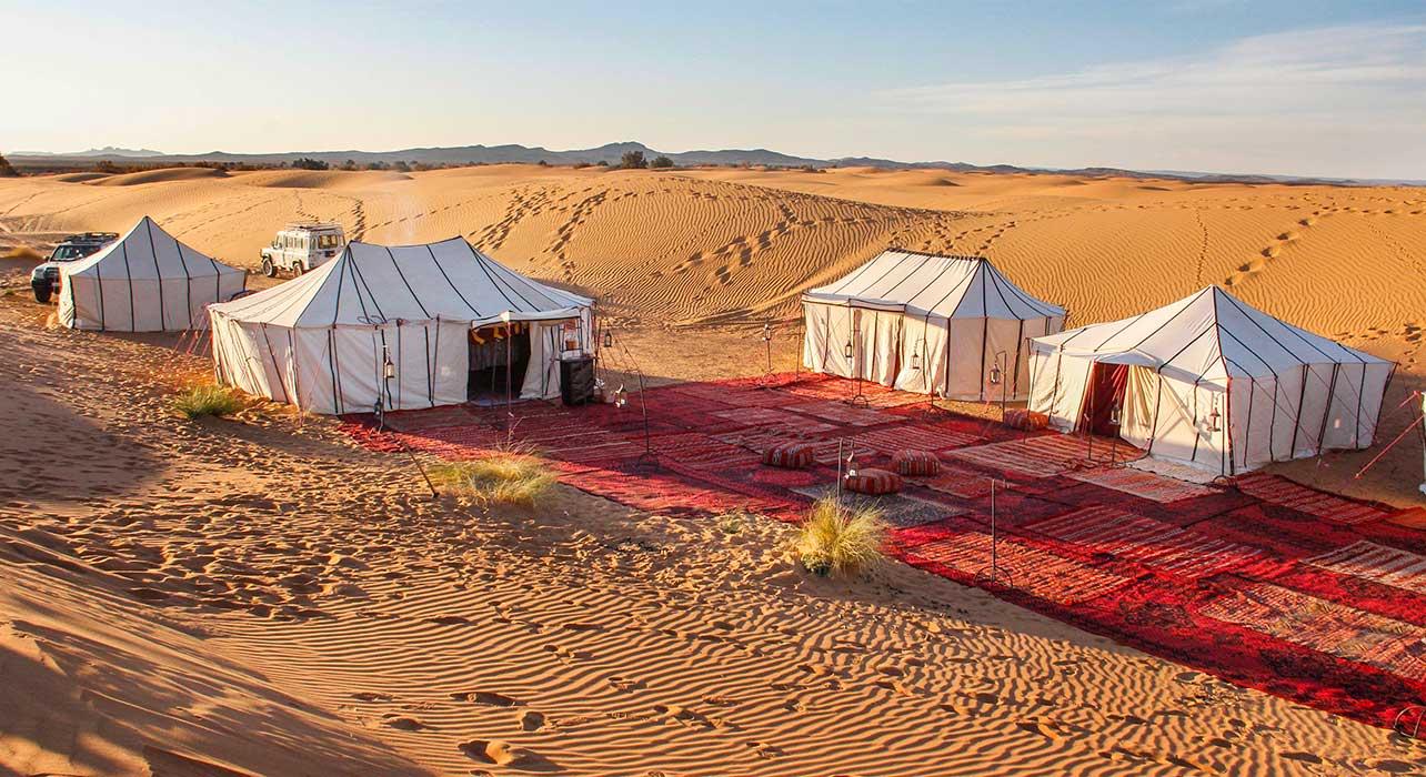 morocco desert camp tents luxury