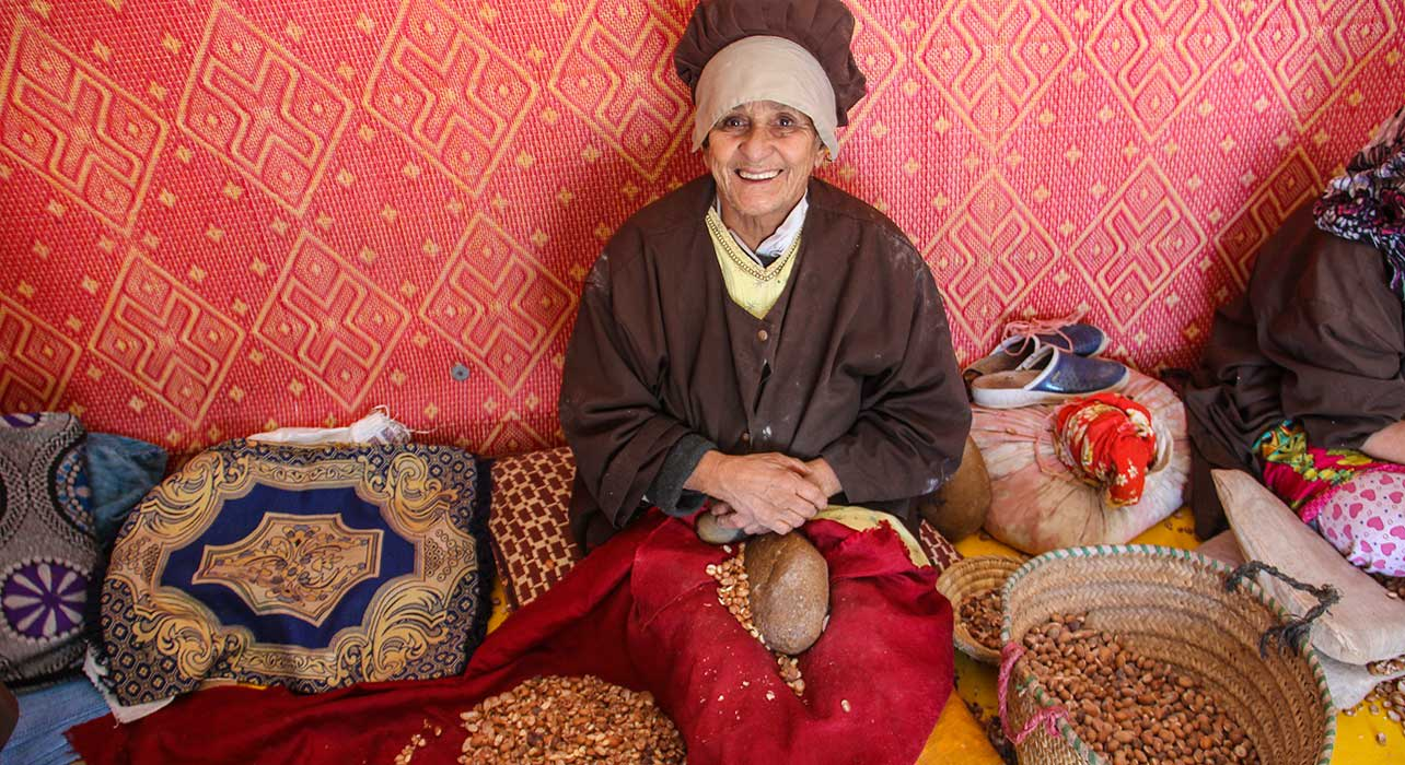 berber woman argon