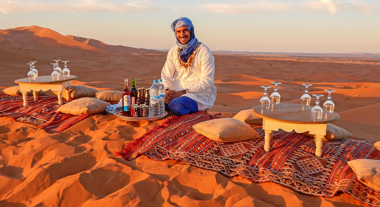 morocco michael koberda sunset treat on top of a dune