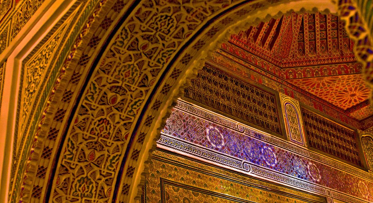 morocco marrrakesh ornate architecture brian mcgilloway