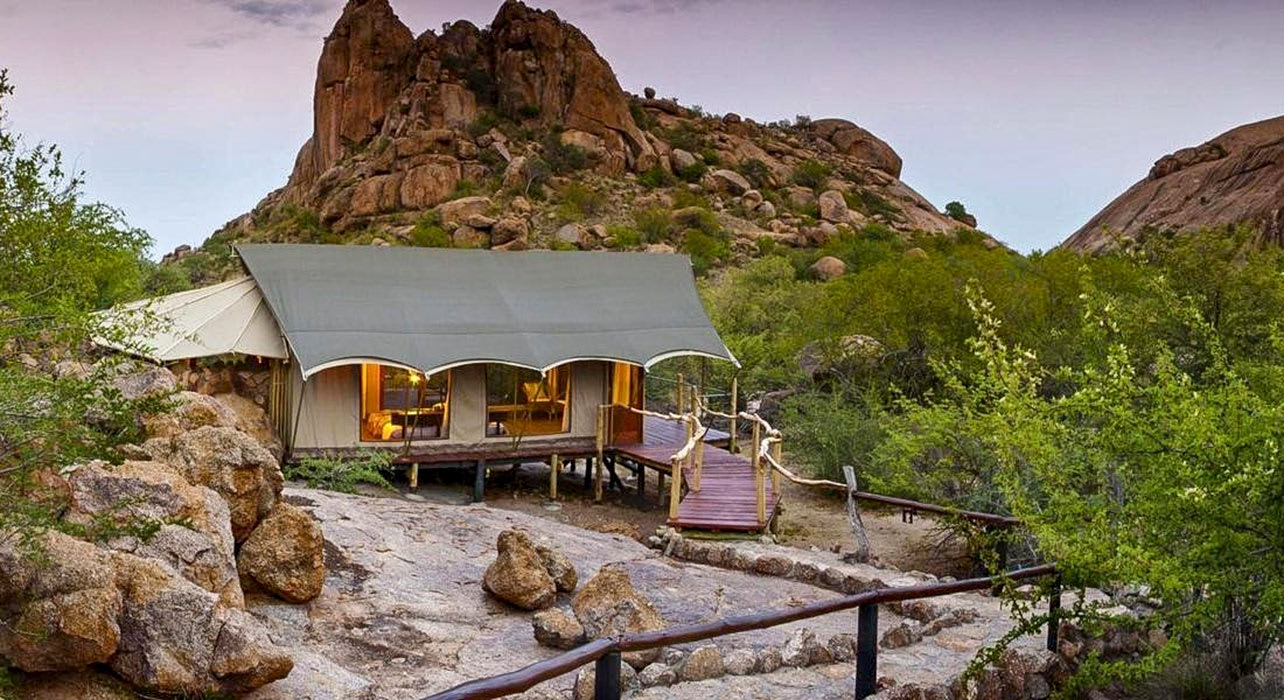 2 slide erongo wilderness lodge africa pano