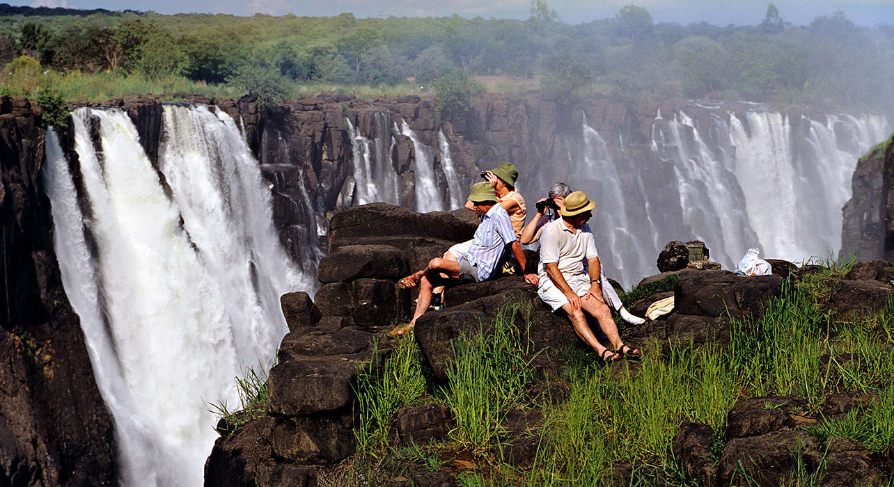 botswana south africa victoria falls waterfall viewing