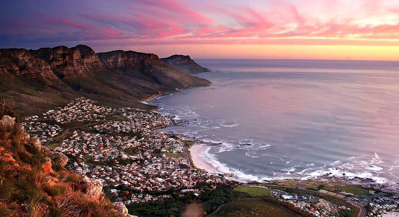 coastal town sunset stuart apsey