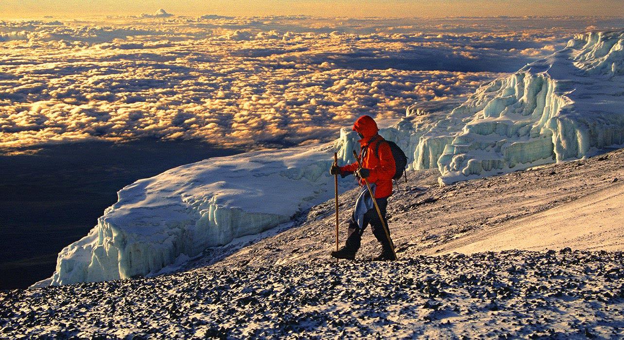 kilimanjaro trek climber