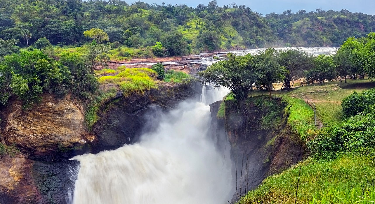 3 slide murchison falls uganda africa pano