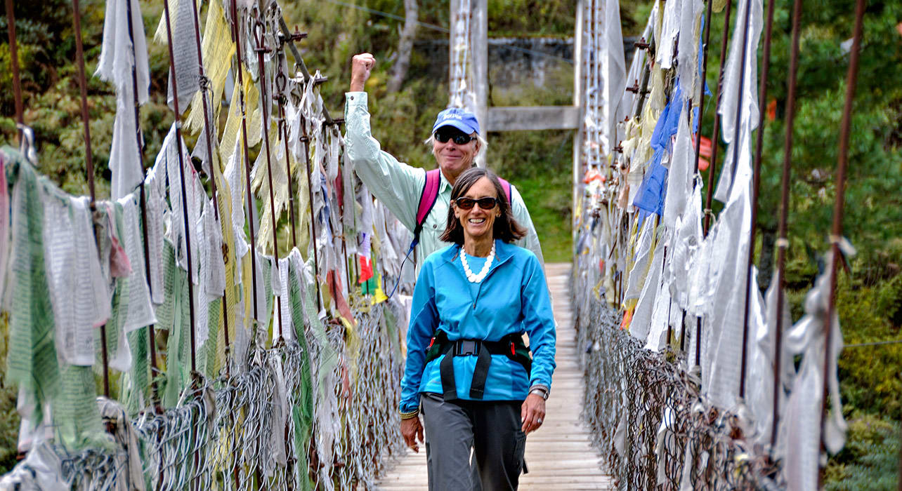 bhutan bridge guests
