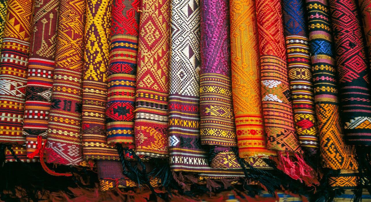 silk fabric vietnam traditional clothing
