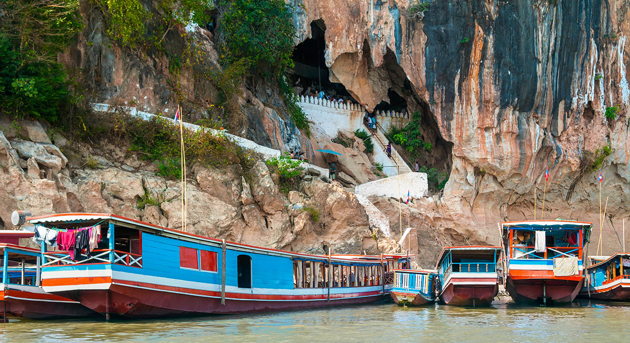 laos mekong pak ou caves