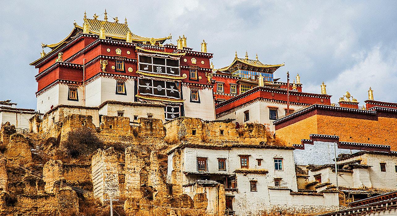 sichuan yunnan songzanlin monastery
