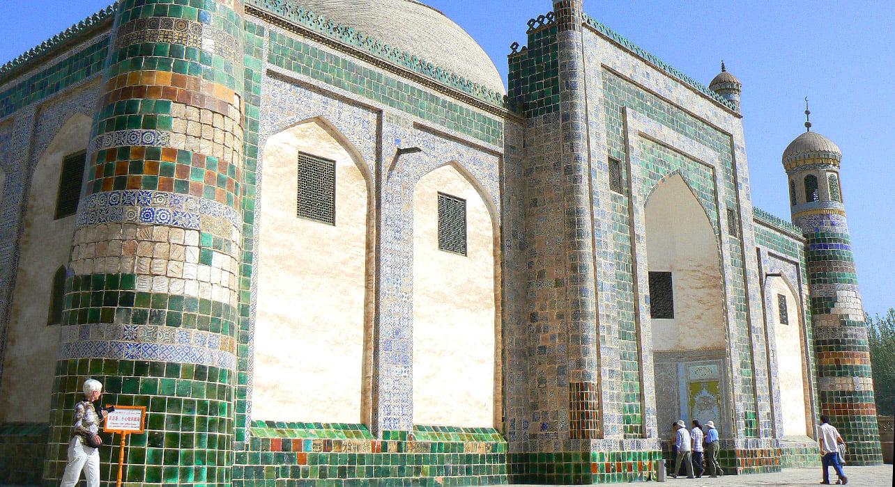 china silk road kashgar abakh khoja tomb