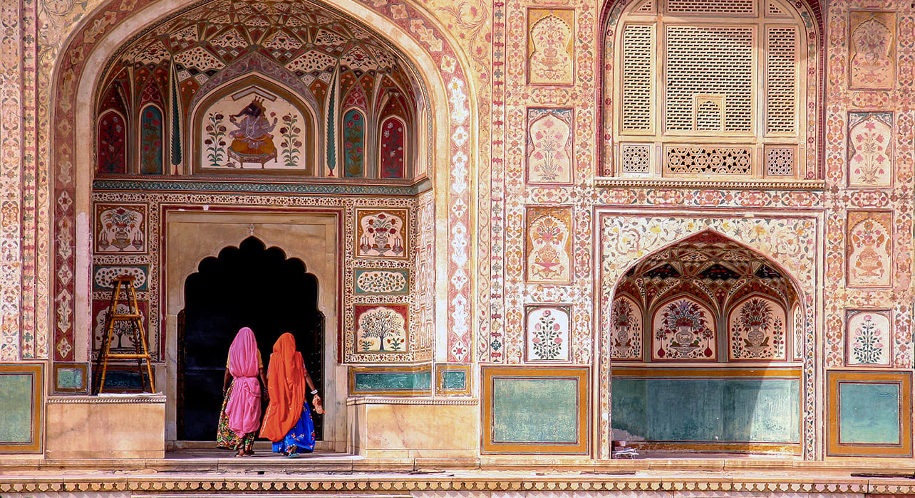 india jaipur amber fort women