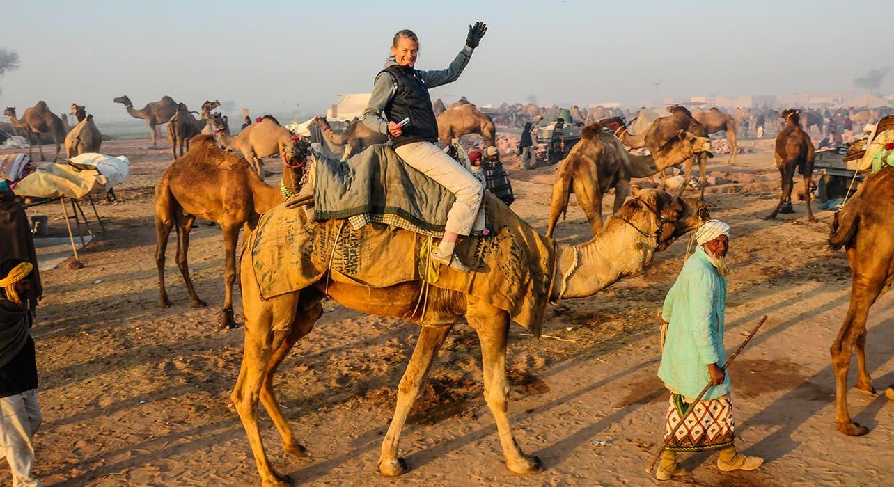 india camel woman naguar