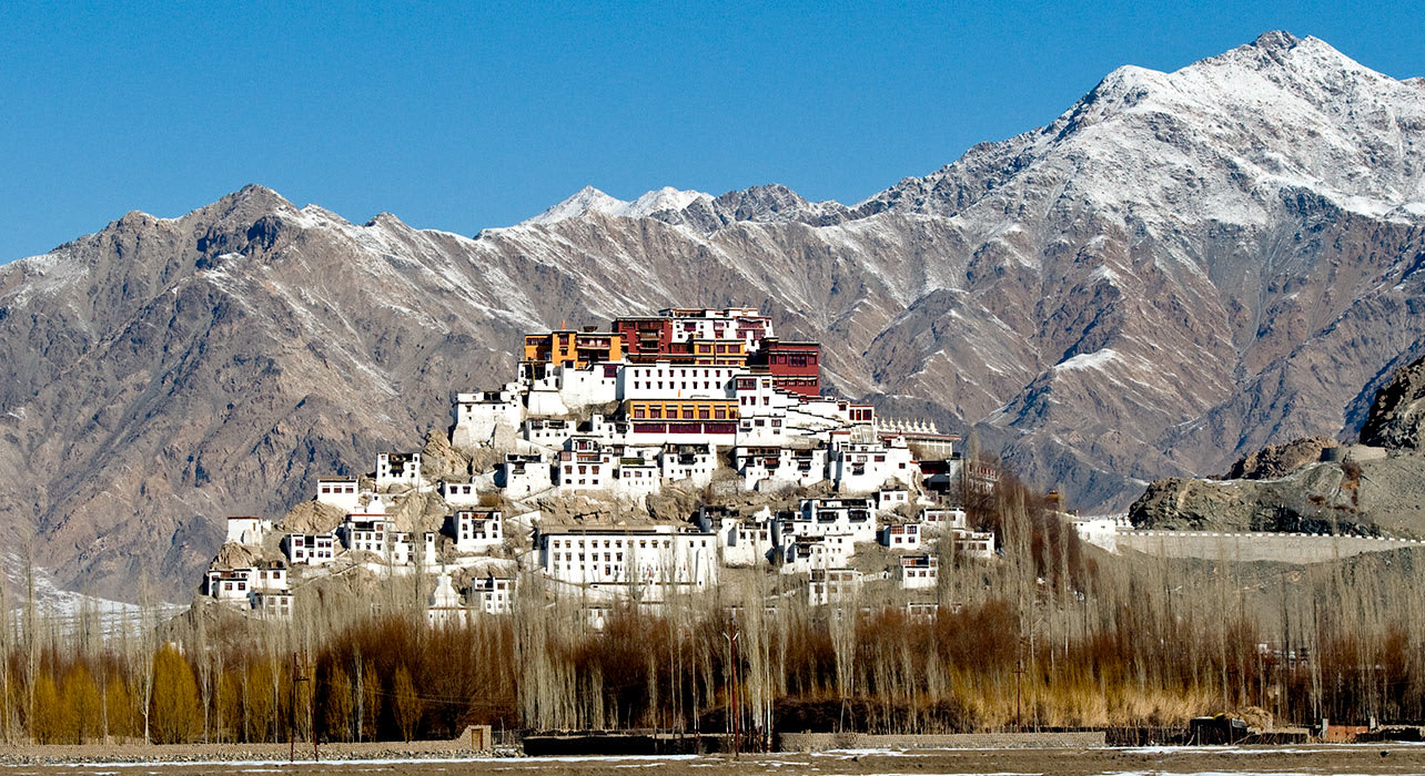 india leh monastery