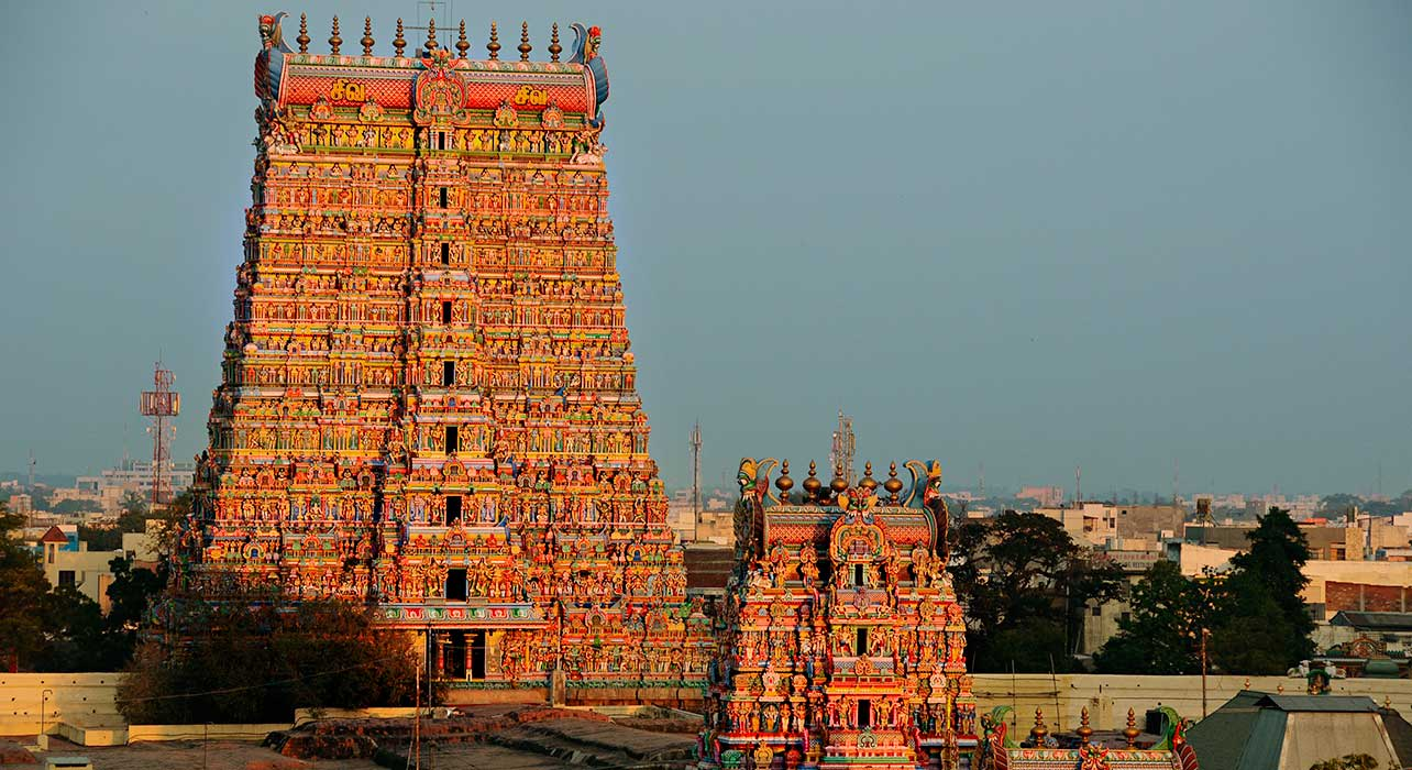 india shri meenakshi sundareshwarar temple