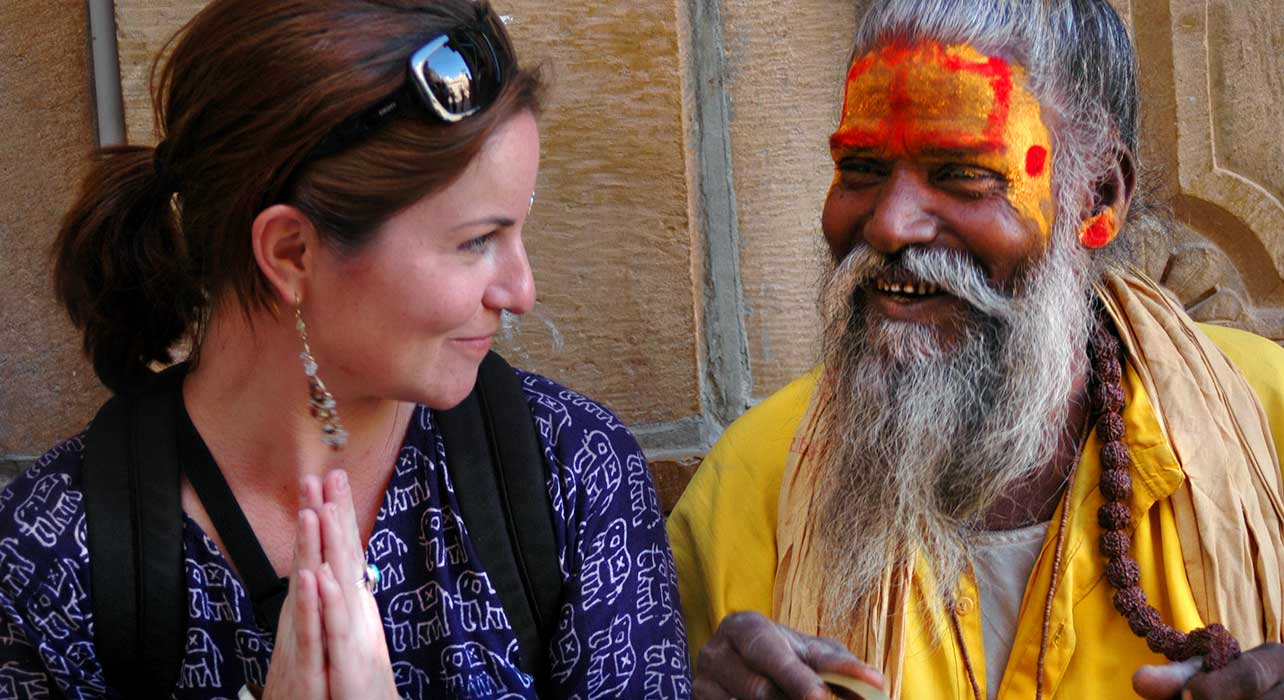 india sadu happy client