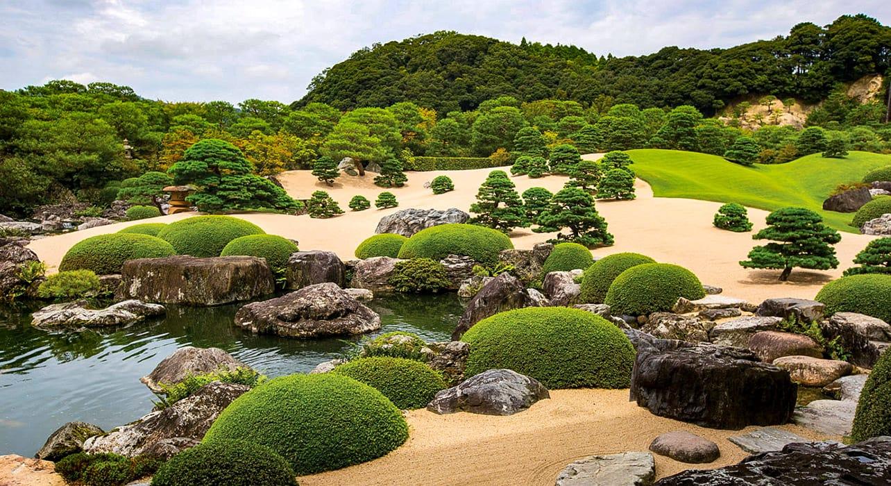 japan and south korea sakaiminato garden