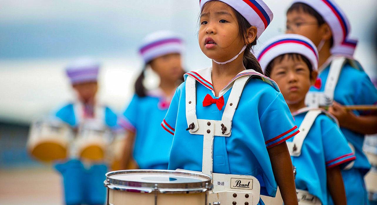 japan and south korea okayama children