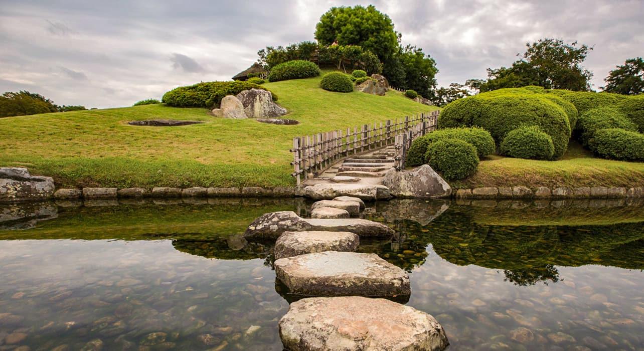 japan and south korea okayama garden