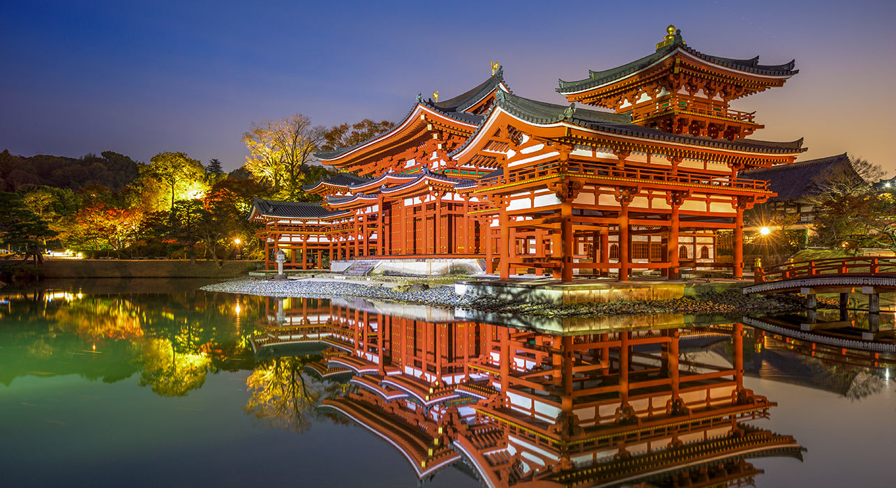 byodoin phoenix hall japan temple