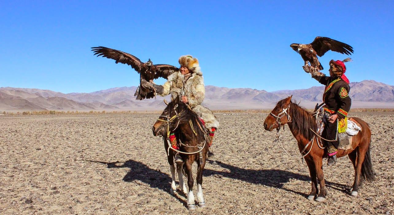 mogolia golden eagle festival