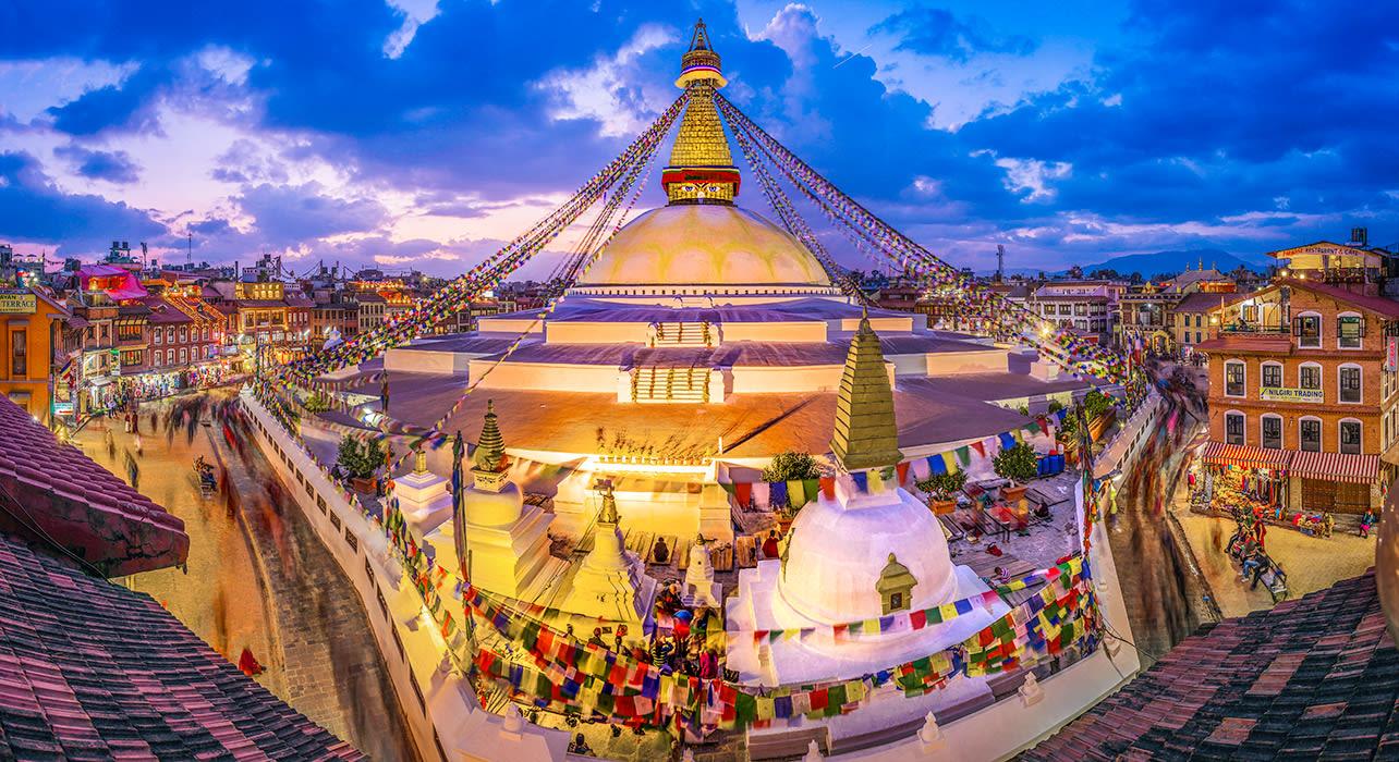 stupa bodnath kathmandu nepal