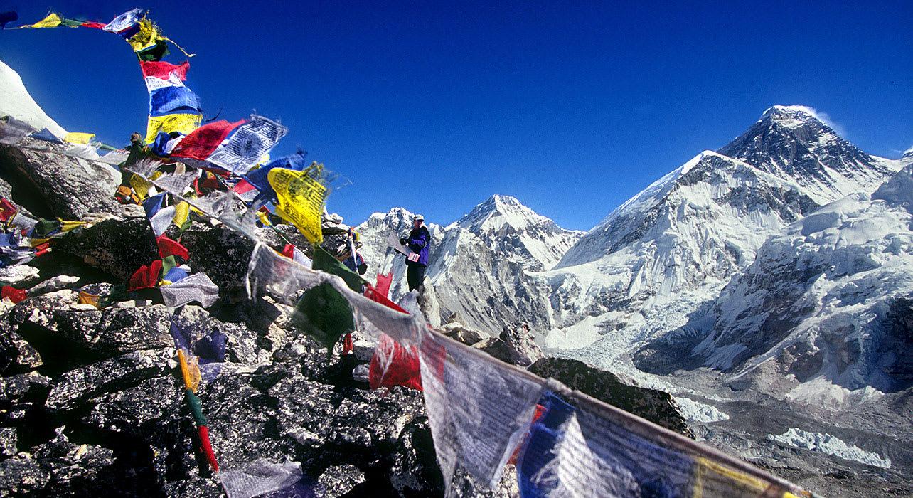 1 slide nepal everest trek prayer flags pano