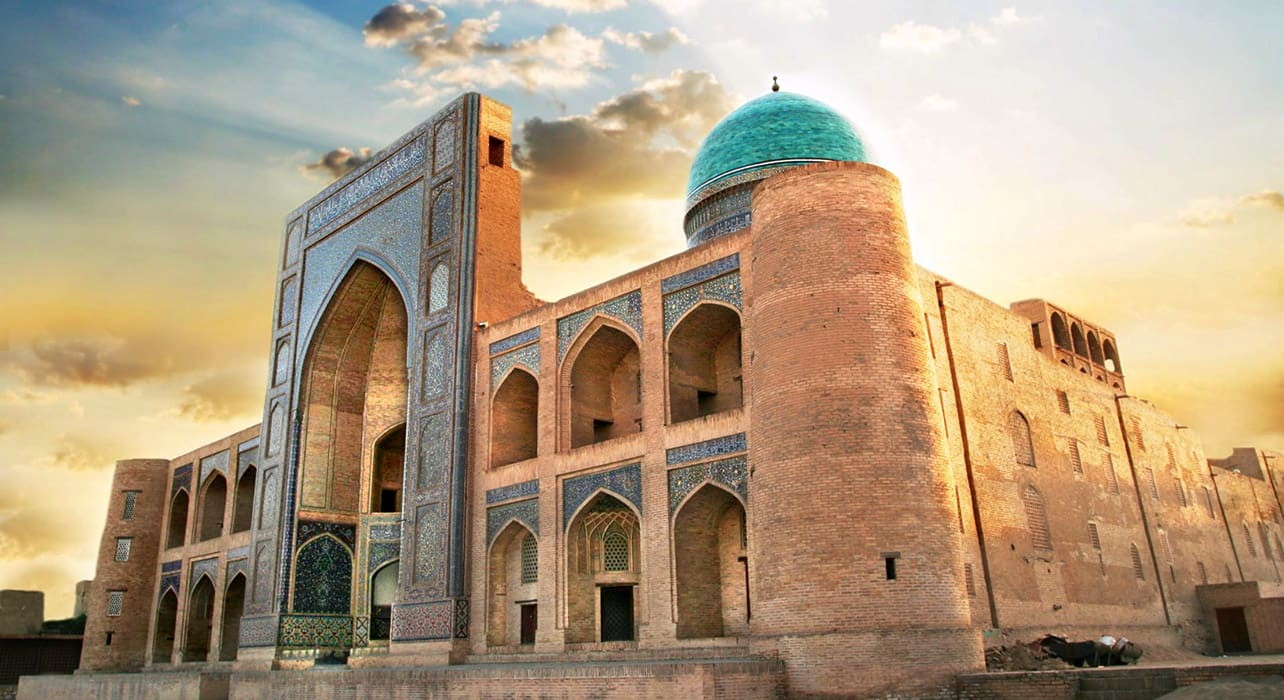 taste silk road bukhara samarkand mosque
