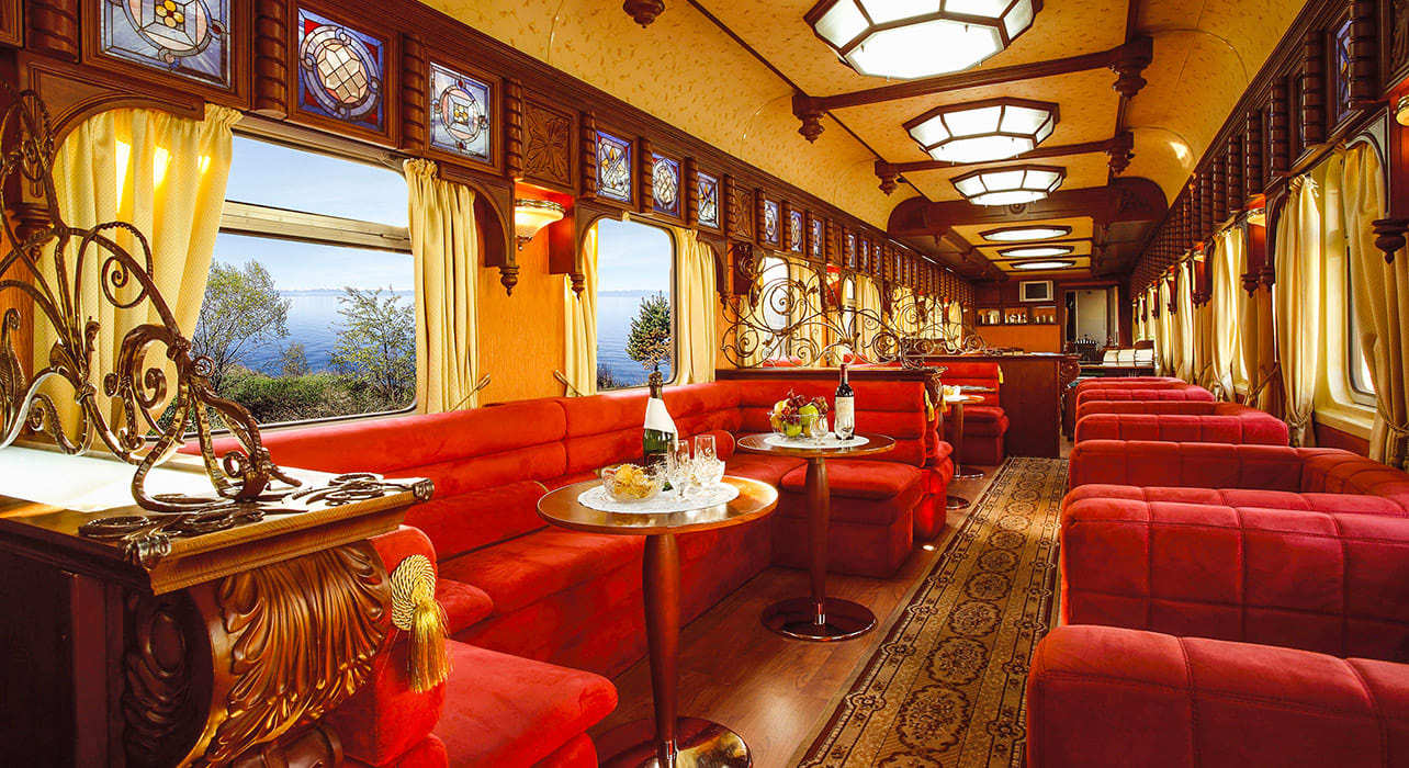 taste silk road golden eagle bar lounge train