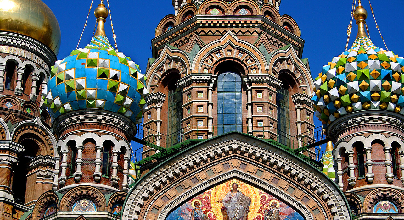taste silk road st petersburg russia church domes