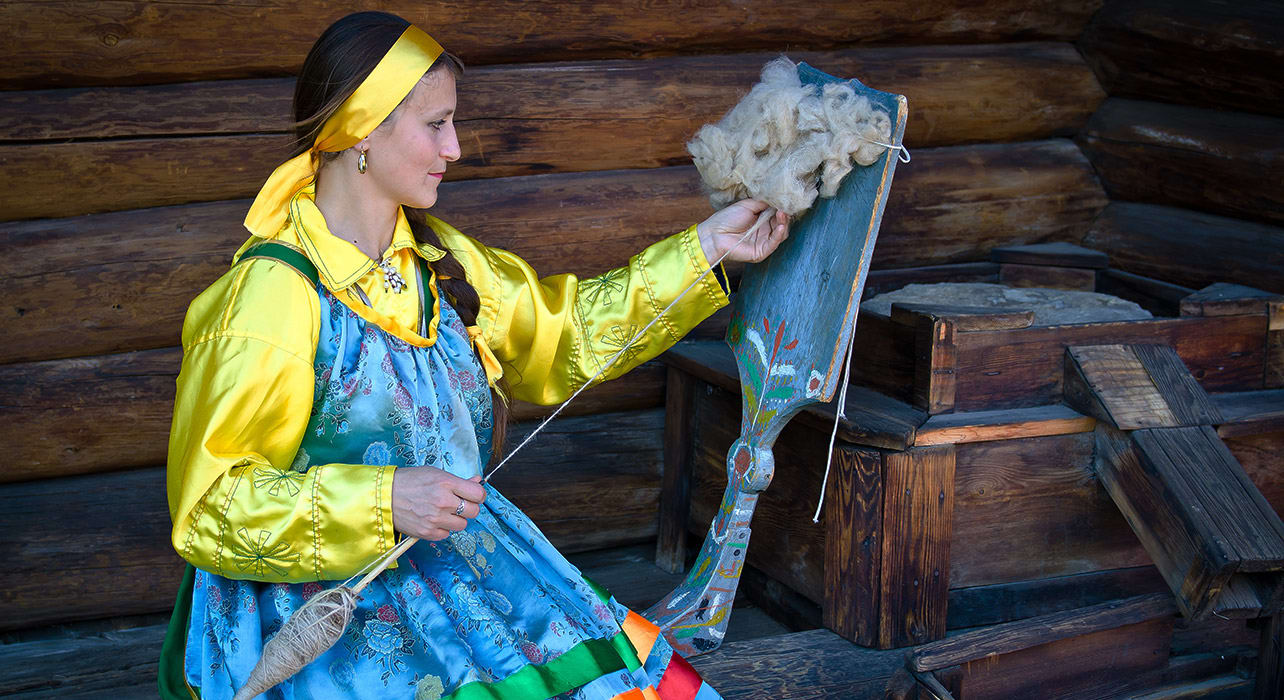 ulan ude buryatia russia traditional wool
