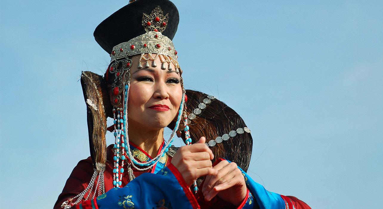 mongolia buryat woman siberia