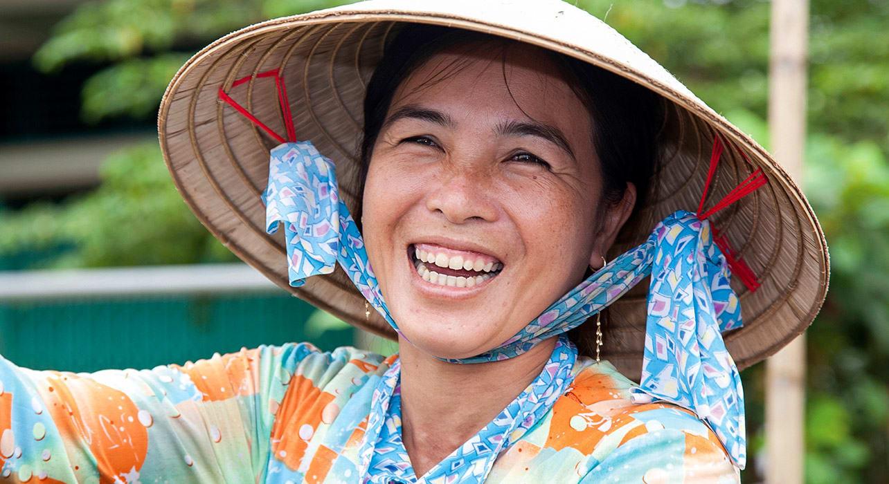 mekong vietnamese woman