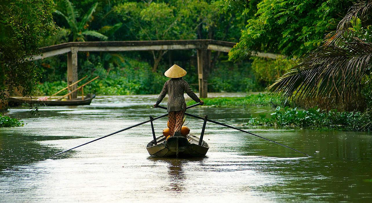 vietnam mekong river boat
