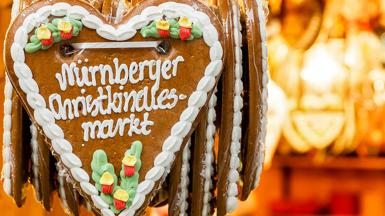 danube nuremberg germany gingerbread cookies christmas market