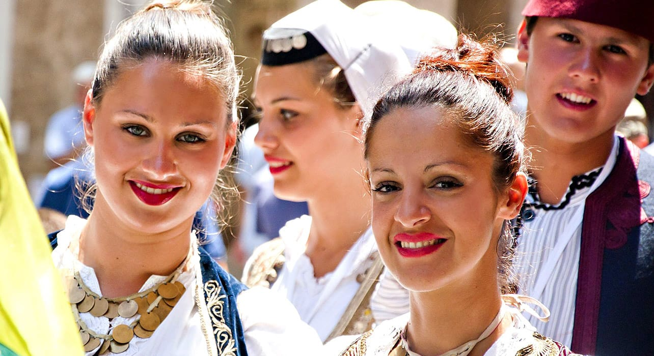 adriatic odyssey balkan countries in traditional dresses