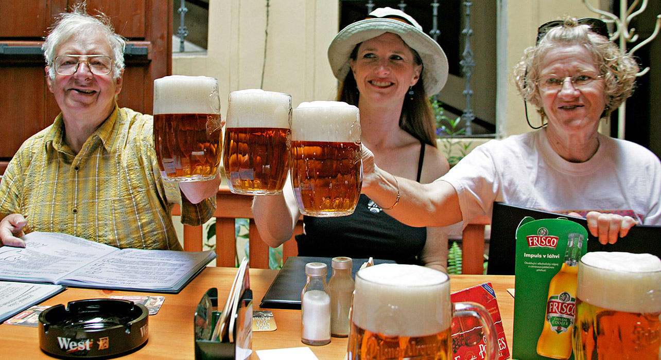 three beers cheers