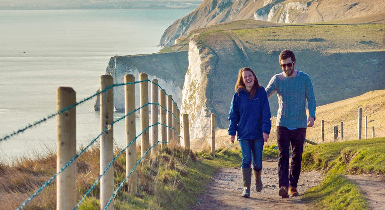 hiking jurassic coast england