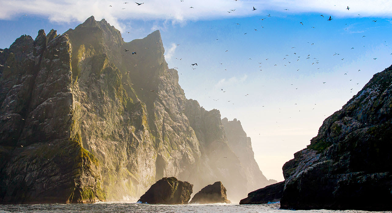 scotland st kilda island outer hebrides