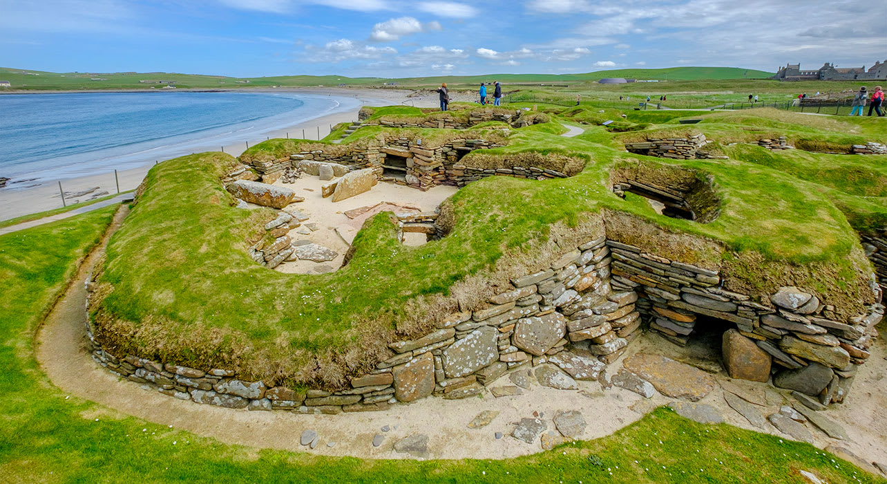 skara brae orkney islands scotland